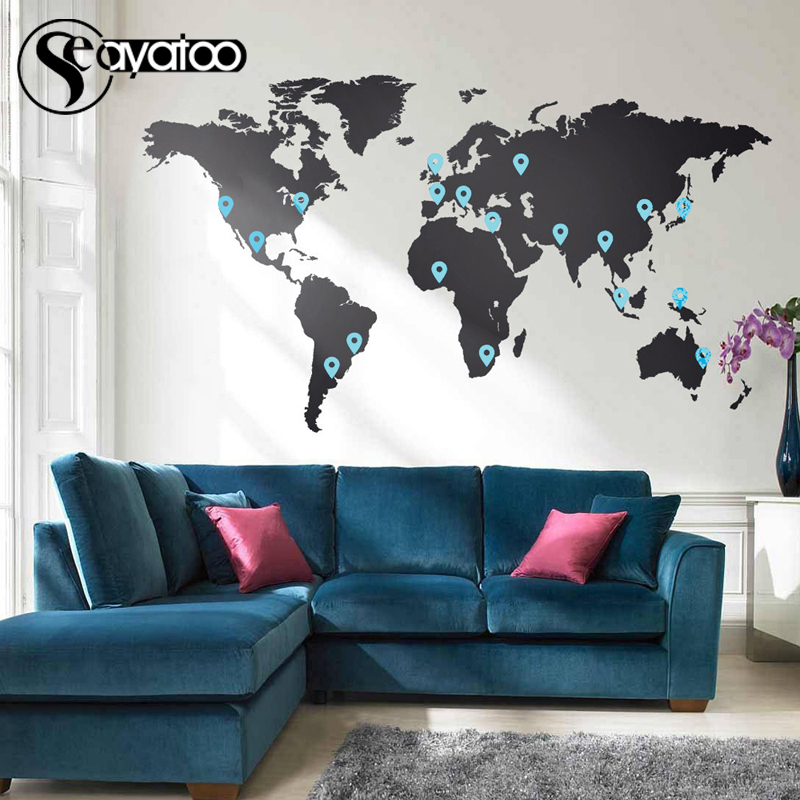 Vinyl Wall Stickers Living Room