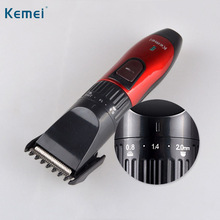 Kemei Hair Clipper Trimmer Rechargeable Hair Cutting Beard Trimmer Styling Tools Hair Shaving Machine Electric Shaver KM-730