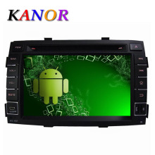 Quad-Core 1024*600 Android 5.11 Car DVD Player For KIA Sorento 2009 2010 2011 2012 with Audio GPS Radio Stereo Cassette Player