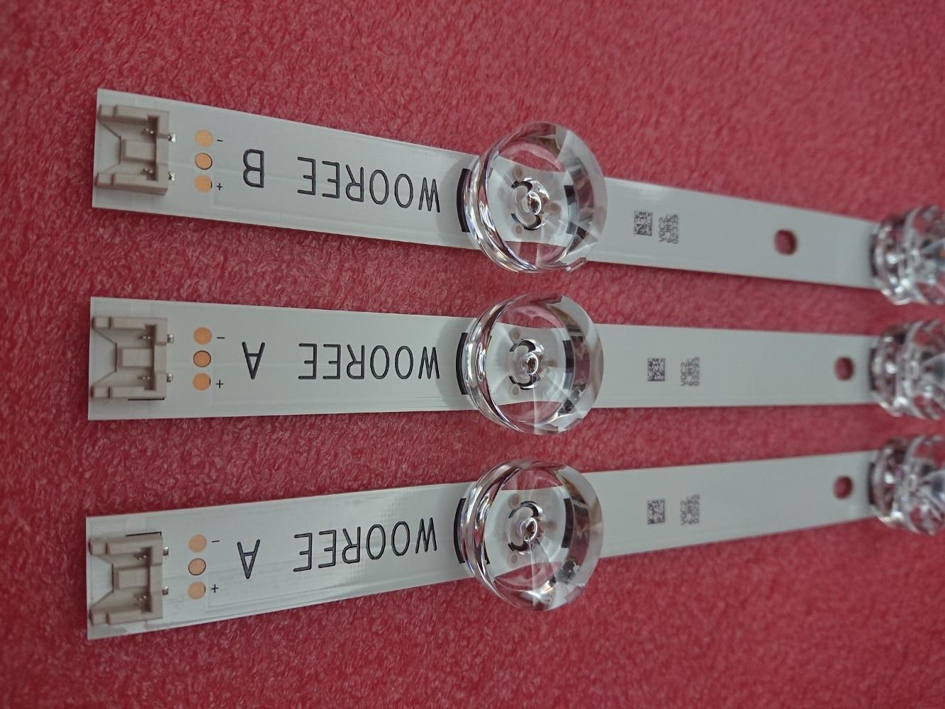 New Original 3 PCS LED backlight strip for LG TV UOT LGIT A B