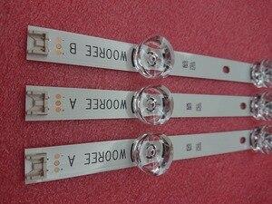 (جديد الأصلي) 3 قطع drt 3.0 32 بوصة AB LED الخلفية قطاع ل LG التلفزيون 32LB5610 6916l-1974A 1975A 2224A 0419D innotek WOREE AB