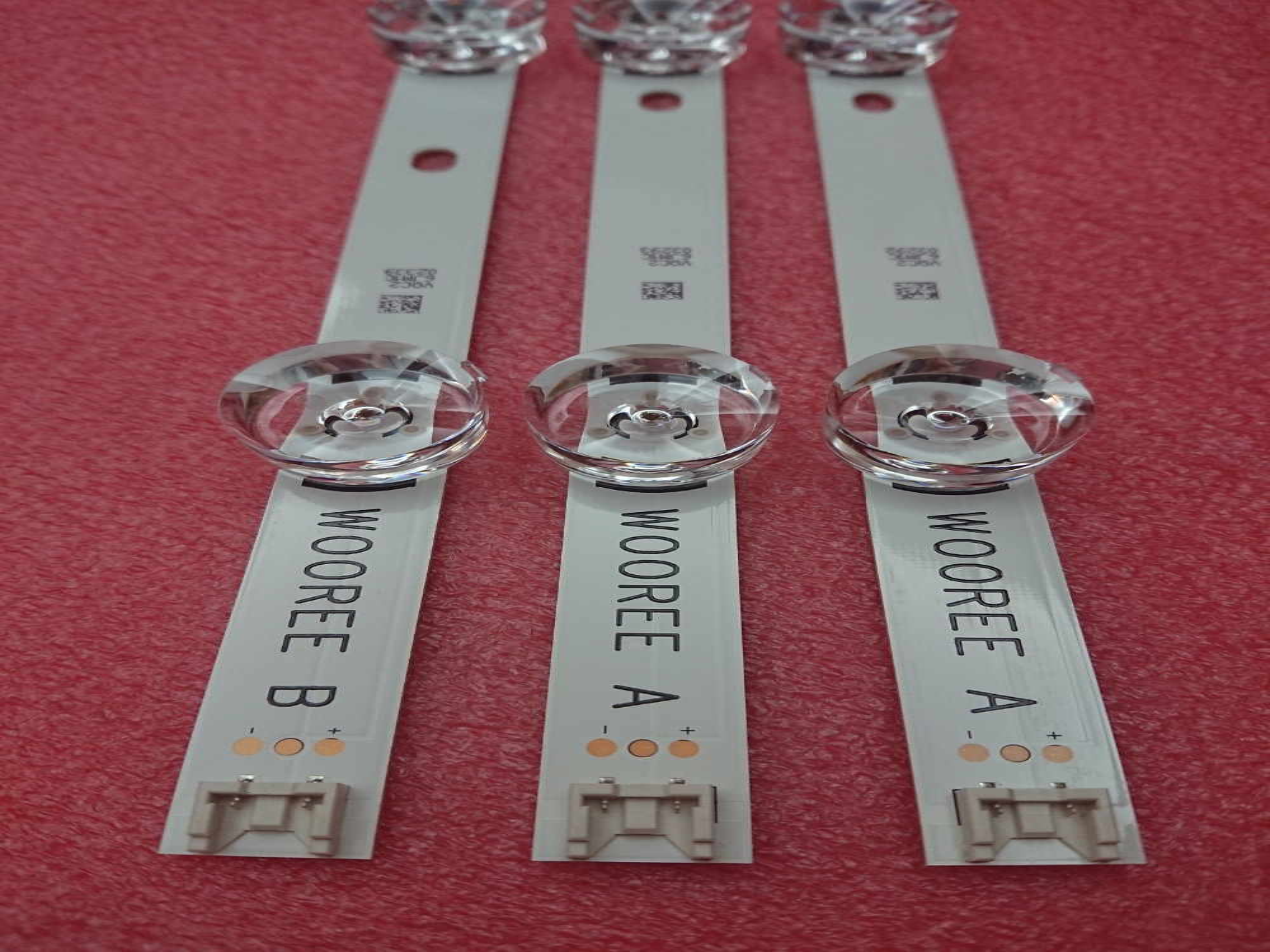 (Neue original) 3 stücke drt 3,0 32 zoll EINE B led-hintergrundbeleuchtung streifen für LG TV 32LB5610 6916l-1974A 1975A 2224A 0419D innotek WOREE EINE B