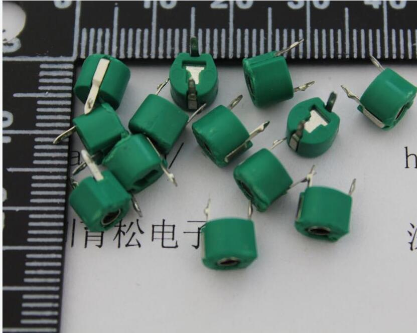20PCS/LOT  30P Adjustable Capacitance Trimmer Variable Capacitor Plastic 6mm JML06-1-30P
