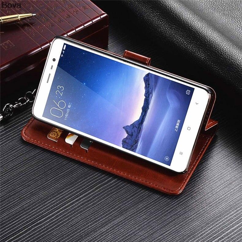 Redmi Note 3 korthållare täckväska för Xiaomi Redmi Note 3 Pro Pu - Reservdelar och tillbehör för mobiltelefoner - Foto 4