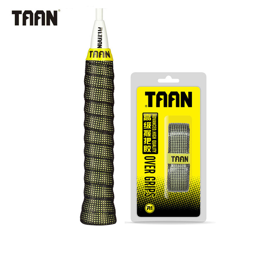 TAAN Brand 3Pcs/lot Overgrip Badminton Tennis Grips Sweat Absorbed Sweatband Wraps Taps Professional Racquet Accessories TW090