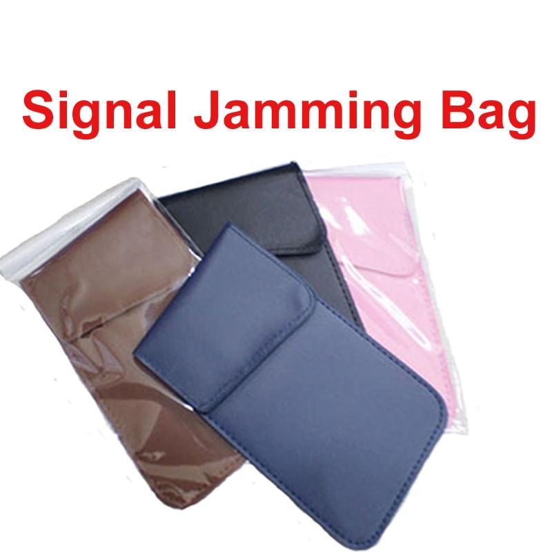 Car Remote Key Jammer Bag Anti-Scan Card Sleeve Bag Signal Isolator Radiation Blocker Bag Radiation Protection Jammer Bag