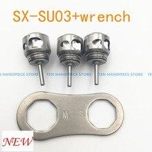 2018 good quality NSK SX-SU03 Turbine Cartridge+ NSK SX-SU05 handpiece wrench for Pana Max Plus S-Max M600L Dynal LED S-Max M600