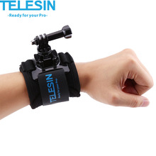 Rotary Wrist Strap Belt Mount for GoPro Hero 5/4/3