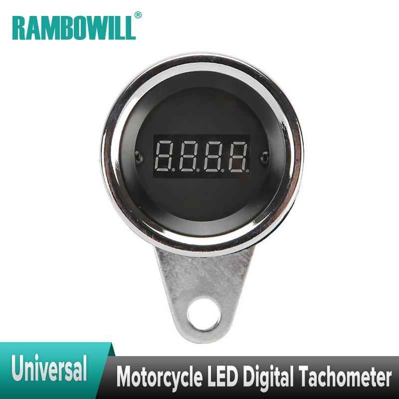 Universal Motorcycle Led Tachometer Speedometer Digital
