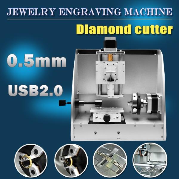 Diamantové nástroje Automatické CNC gravírování pro klenoty a - Zařízení na obrábění dřeva - Fotografie 2