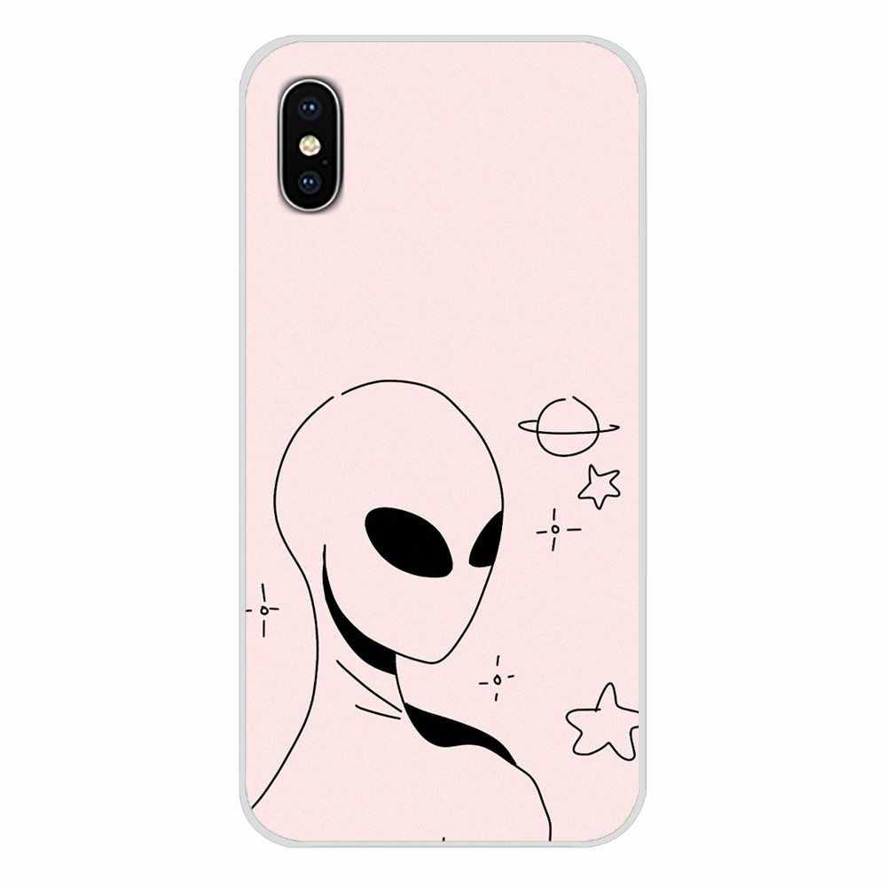 Для Samsung Galaxy A3 A5 A7 J1 J2 J3 J5 J7 2015 2016 2017 аксессуары для телефона Чехлы психоделический, с индийской спиралью знак мира Alien
