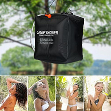 20L/40L Portable Solar Heated Water Bag Energy Heated Bathing Outdoor Camping Shower