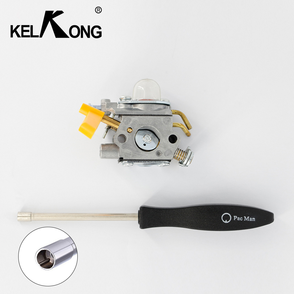 KELKONG OEM Carburetor for ZAMA C1U-H60 Homelite Ryobi 308054013 308054012 308054022 308054025 Tool Free With pac man screw tool цена