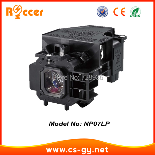 Compatible Projector Lamp NP07LP for NEC NP1150/NP1250/NP2150/NP2250/NP3150/NP3151/NP3151W/NP3250/NP3250W/NP3200 compatible projector lamp for nec lt70lp 50024095 lt170
