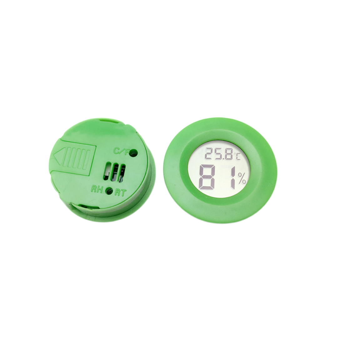 Portable Round Digital Thermometer Hygrometer Mini Temperature Humidity Meter AS