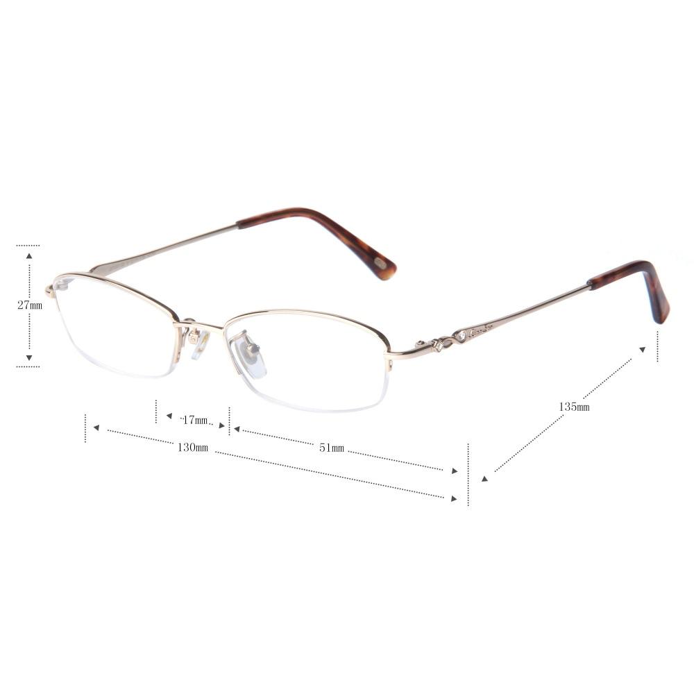 dbeb2a475824 LianSan Retro Titanium Slim Eyewear Half rim Reading Glasses Women Men  Brand Designer Hyperopia Presbyopic Lightweight L8700-in Reading Glasses  from Apparel ...