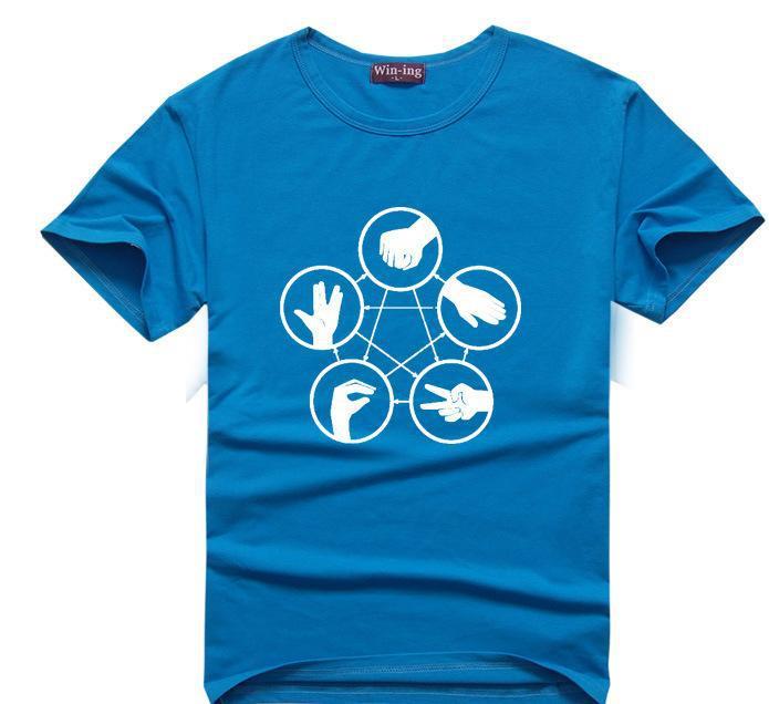 10 colors Schrodingers Cat T-shirt science geek t shirts men women comic tee tshirt The Big Bang Theory Sheldon Cooper