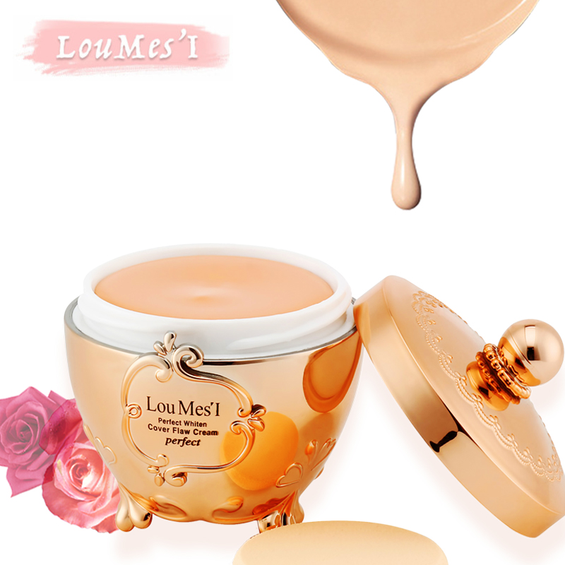 Loumesi Face Concealer Cream Make up primer Invisible Pore Wrinkle Cover Pores Concealer Foundation Base make up