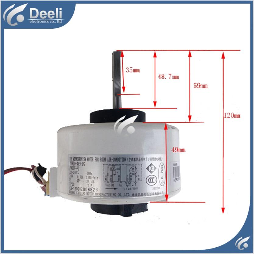 95% new good working for Air conditioner inner machine motor FN20V-PG ( YYR20-4A9-PG ) 220V Motor fan 95% new стоимость