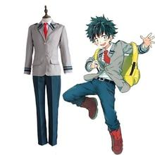цены на Anime My Hero Academia Cosplay Costumes Izuku Midoriya Katsuki Bakugou Shouto Todoroki Cosplay Halloween Boku No Hero Academia  в интернет-магазинах