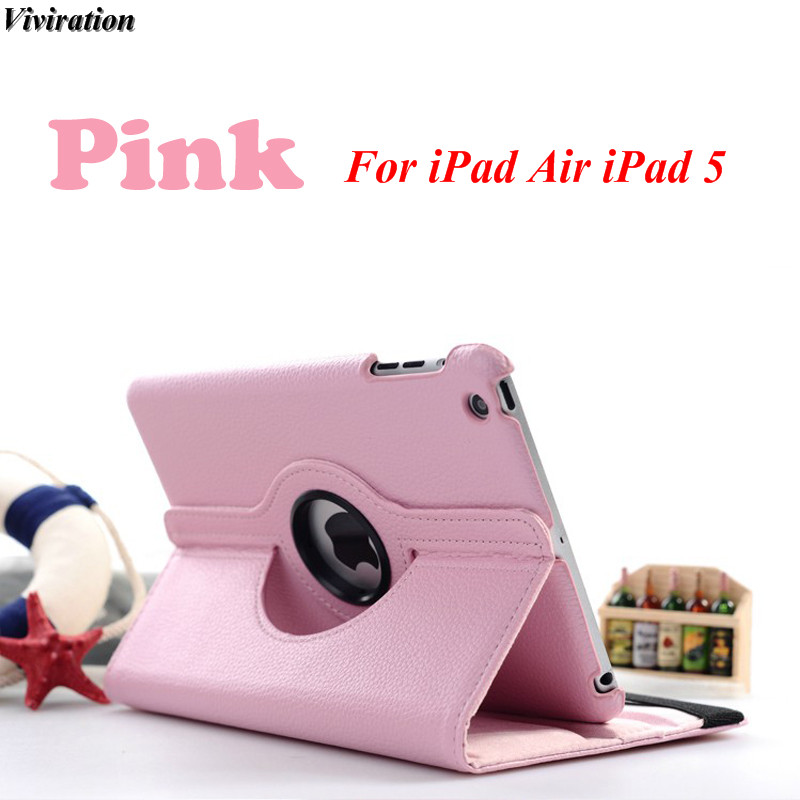 Smart Flip PU Leather Cover Case Luxury 360 Rotating Case Protective Shockproof Tablet Acc