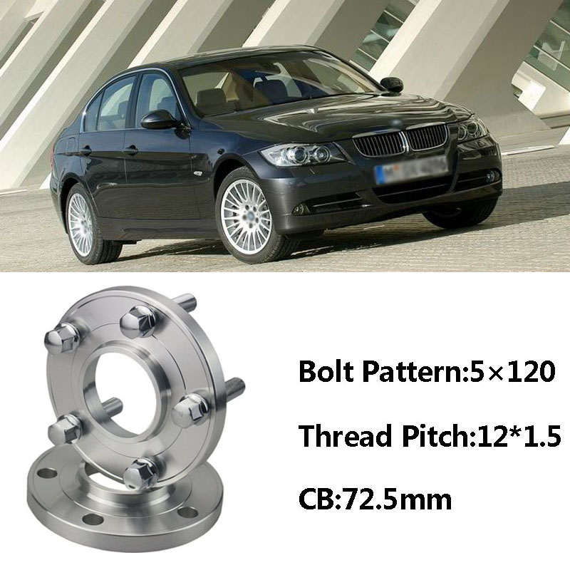 Us 85 49 5 Off High Quality 2pcs New 5x120 72 5cb Centric Wheel Spacer Hubs M12 1 5 Bolts For Bmw E85 E82 E87 E89 E81 E36 E30 E65 E60 E64 E66 In