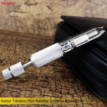 MUXIANG Senior Professional Adjustable Tobacco Pipe Reamer Smoking Pipe Accessories 6 Blades Carbon Remover with Drill fh0003