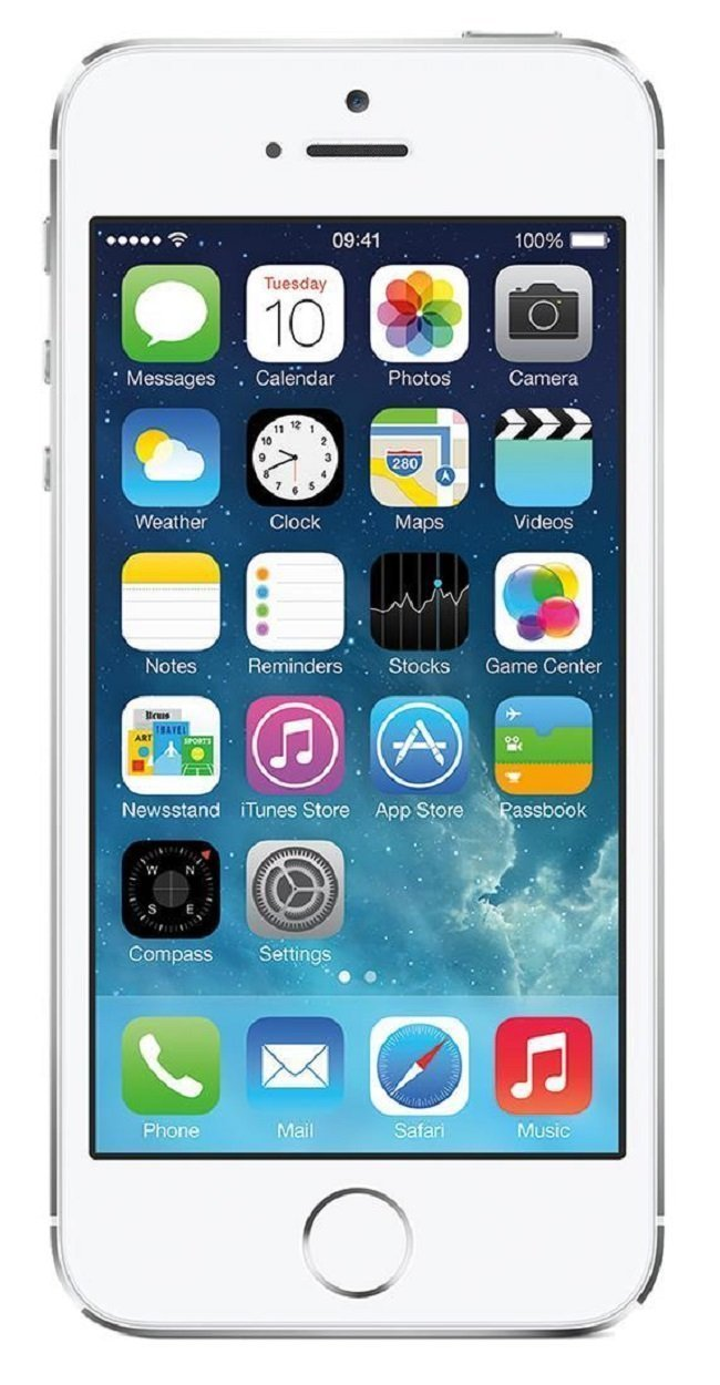 Original Unlocked Apple iPhone 5S with fingerprint Cell Phones iOS 4.0