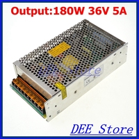 Led driver 180W 36V 5A Single Output Adjustable Switching power supply unit for LED Strip light AC DC Converter