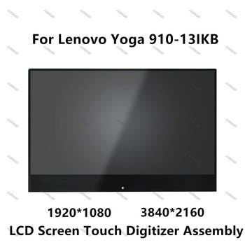 13.9'' LCD Display Screen Touch Digitizer Assembly For Lenovo YOGA 910 80VF00MEUS 80VF00MKUS 80VF0039US 80VG004BUS 80VG004AUS
