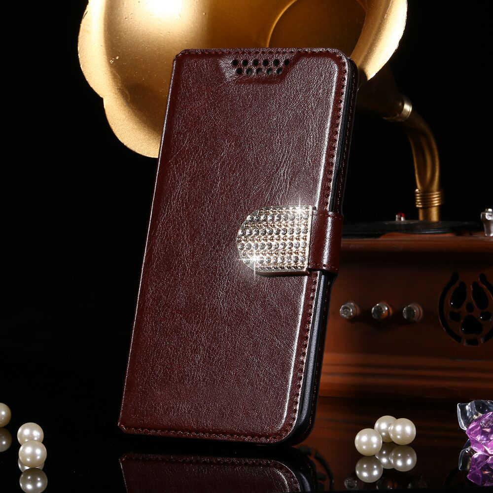 財布ケースカバー Zte ブレード A1 速度新着高品質フリップ革保護電話カバーバッグモバイル書籍シェル