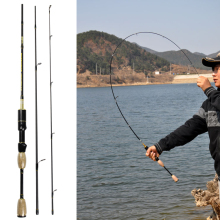 UL spinning fishing rod soft 1.8m ultra light carbon firber fishing pole articulos de pesca 0.8-5g lure moulinet canne a peche