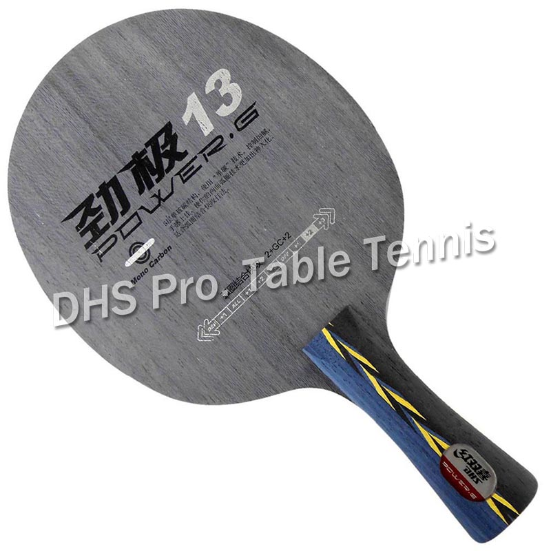 DHS POWER.G13 PG13 PG.13 PG 13 Table Tennis / PingPong Blade dhs tg 506 tg506 tg 506 7 ply off table tennis pingpong blade 2015 the new listing factory direct selling