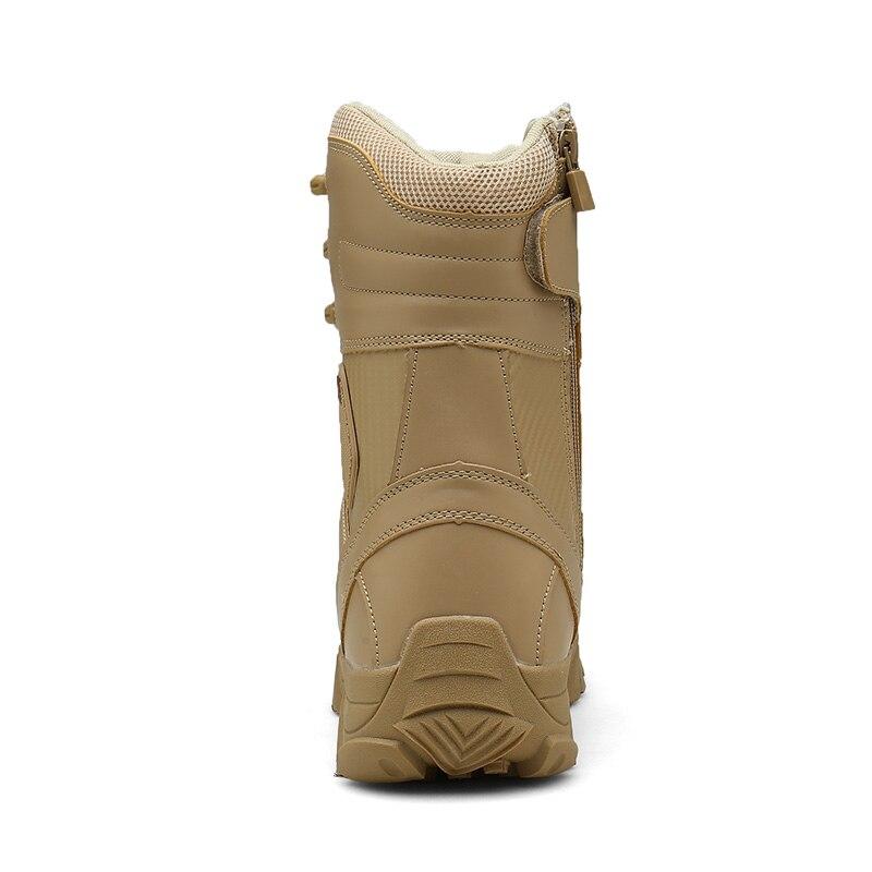 Botas Britânico picture Outono Exército Respirável Genuíno Deserto Bottes Mens Altas Couro Combate Do Sapatos Primavera Color Tamanho Moda Confortável Color Picture De Grande 80rwq81