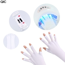 1 Pair Nails Anti UV Gloves for UV Light /Lamp UV Protection Nail Dryer UV Gel Nail Gel Manicure Tools