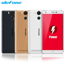 Original Ulefone Power 5.5″ FHD 1920*1080 4G Smartphone Android 5.1 64bit MT6753 Octa Core 3GB+16GB 5MP 13MP 6050mAh Cellphone