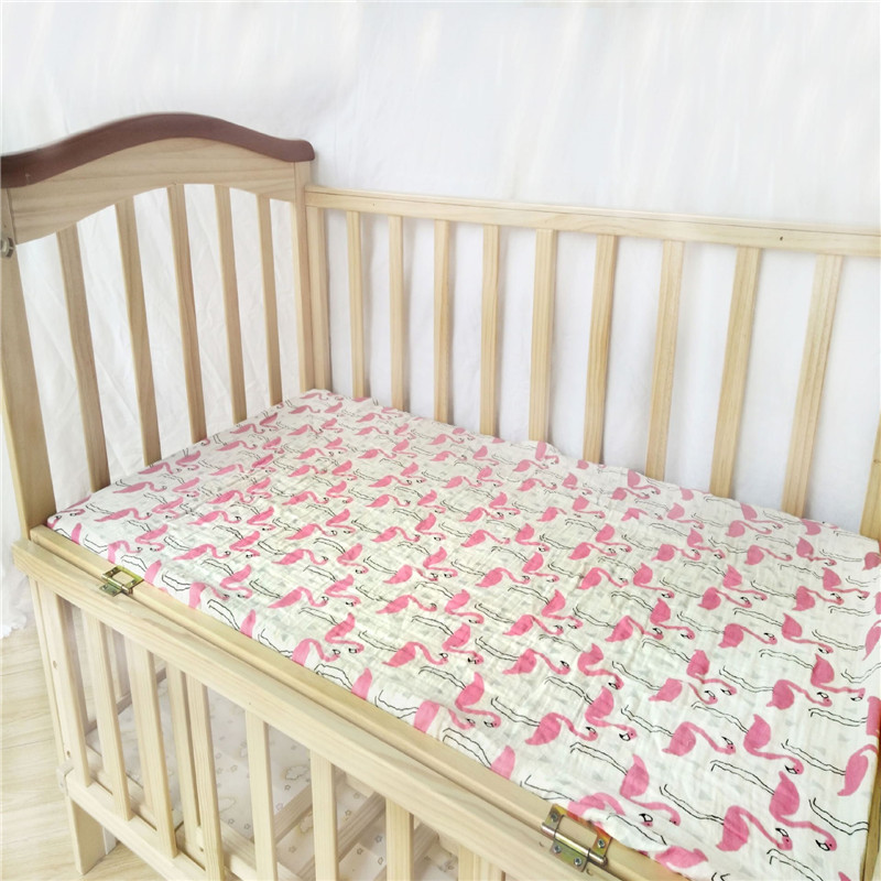 Baby fitted sheet muslin bed sheets covers mattress cover How to put a fitted sheet on a bed