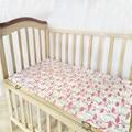 Muselina del bebé sábana ajustable sábanas fundas de colchón protector de la cubierta sábana de cuna baby bedding set