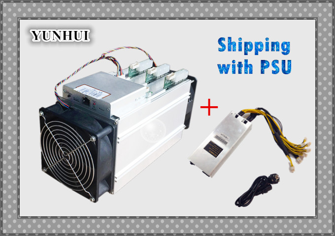 YUNHUI Bitmain AntMiner S5 S7 Upgrate Version New V9 4TH Bitcoin Miner ( With PSU ) Asic Miner Newest 16nm Btc BCC Miner
