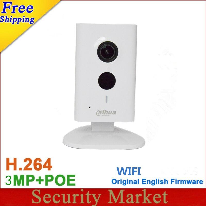 Original dahua English Version IPC C35 3MP C Series WiFi Network Camera with IR Mic SD