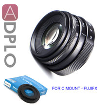 "ADPLO מצלמה עדשת חליפת עבור Pentax Q מיקרו 4/3 NEX N1 FX E.M מיני 35 מ""מ F1.6 APS C טלוויזיה טלוויזיה עדשה + C הר מתאם A6300"