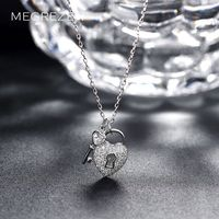 Charm Necklace 925 Sterling Silver Chokers On The Neck For Girls Cz Diamond Jewelry Necklaces Gargantillas