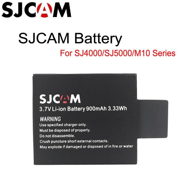 Оригинал sjcam бренд 3.7 В литий-ионная аккумуляторная батарея черный для sj4000 sj5000 sjcam серии m10 серии спорт фотокамер