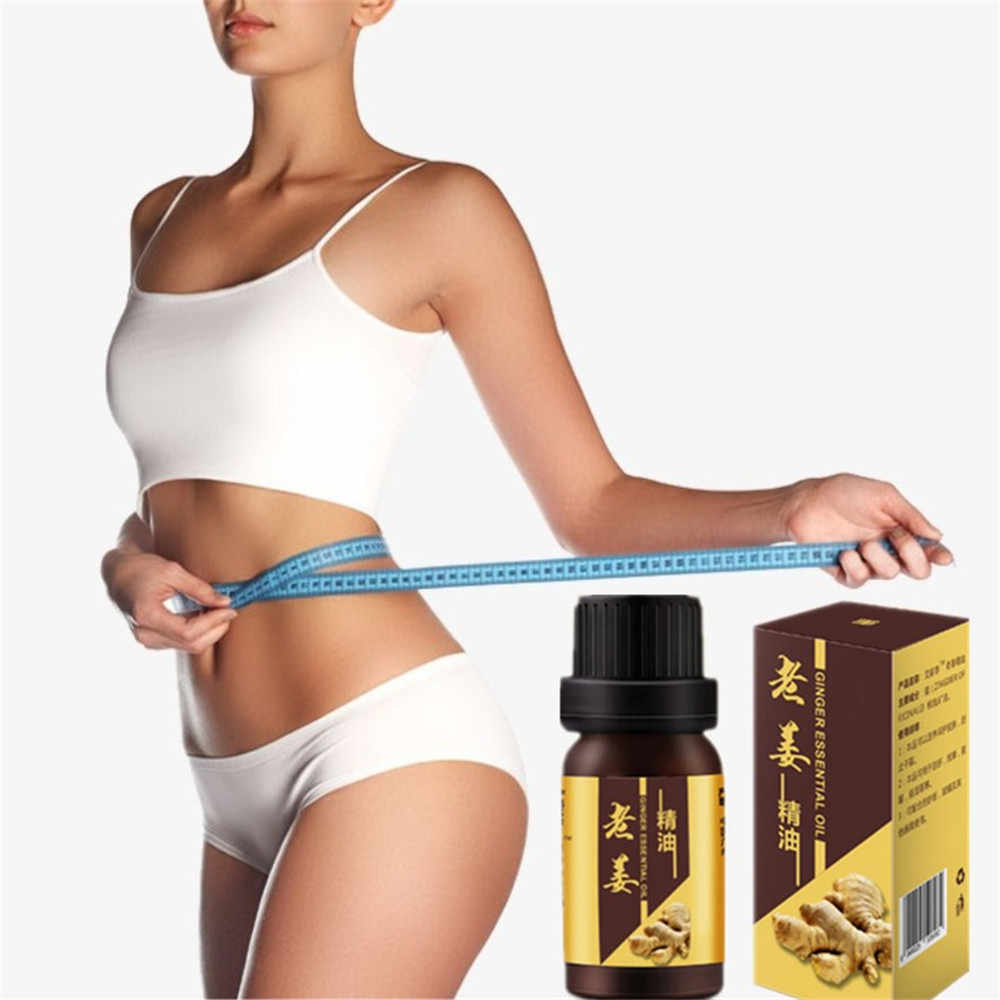 100% Real Wild Ginger Weight Loss Essential oil, ginger Chili Slimming Creams Thin Leg Body Waist Neck Effective