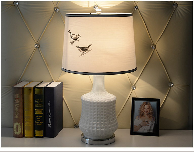 TUDA LED Table Lamps Glass Lamp Modern Rural Creative Sitting Room Bedroom Study Table Lamp tuda glass shell table lamps creative fashion simple desk lamp hotel room living room study bedroom bedside lamp indoor lighting