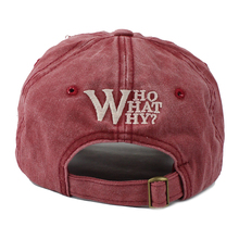 Baseball Cap Cotton Embroidery With W Letter