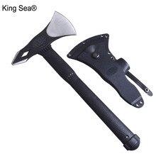 King Sea, кемпинговый топор, многоцелевой топор, острый Томагавк для выживания, топор, топор для кемпинга, выживший топор, обвалочный нож