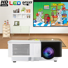 Portable Mini LED Home Cinema Projector Best Gift for Kids For Movie TV Cartoon