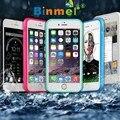 Binmer venda quente nova chegada à prova d' água à prova de choque à prova de poeira case capa para iphone 6 6 s 4.7 polegadas oct10