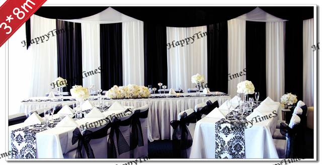 Wedding Decoration Backdrop With Swags Weddingbanquet Background